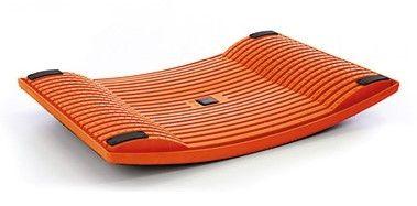 Bewegen op kantoor met een oranje Gymba Active Board