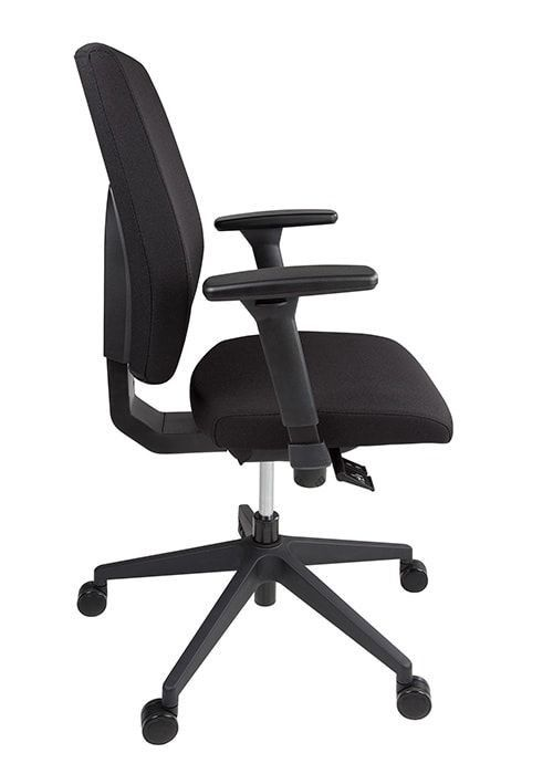 Thuiswerk bureaustoel ERGOM T2 Basic zijaanzicht