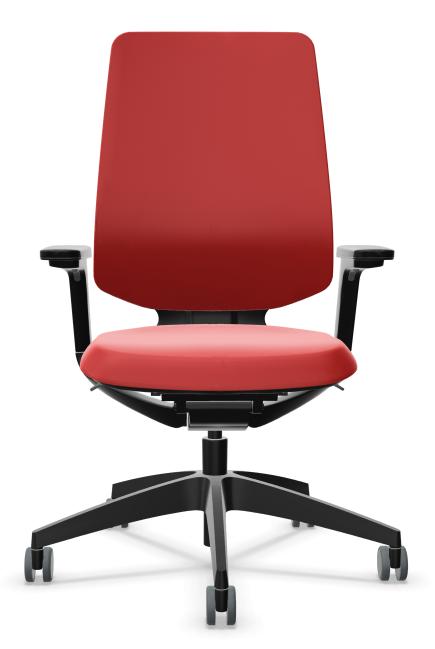 Bureaustoel Sedus se Flex rood