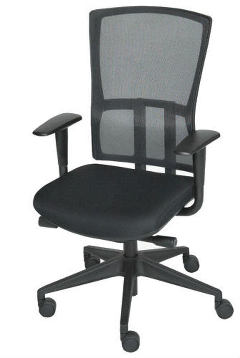 Ergonomische bureaustoel met netweave rug