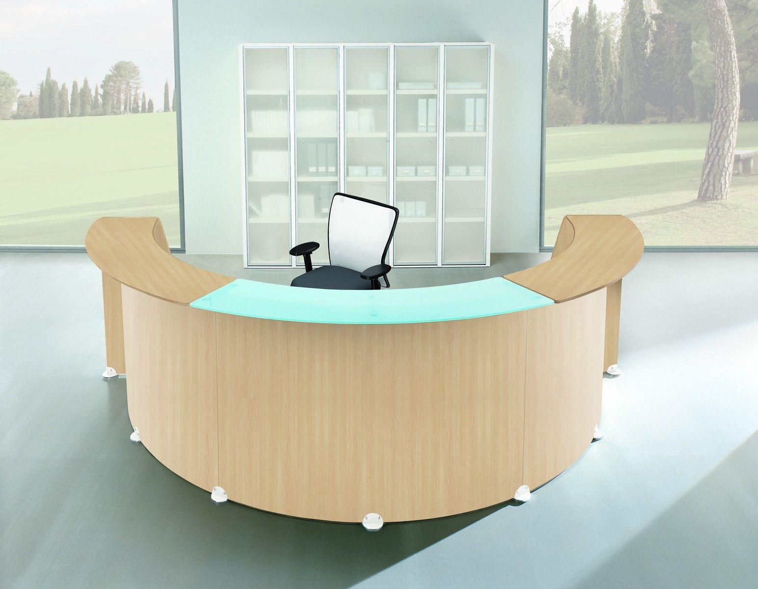 Reception Glass U-vorm Rec 009 compleet