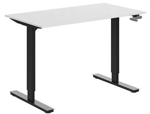 ERGOM Move slinger verstelbaar zit-sta bureau zwart frame