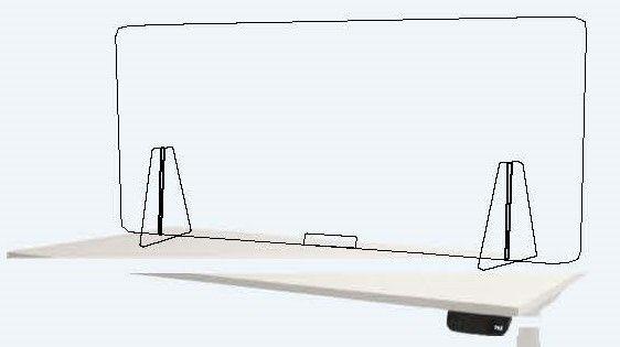 Plexiglas scheidingswand Corona maatregel