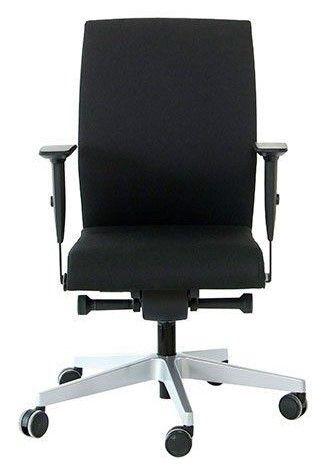 Bureaustoel Interstuhl Yos Enjoy zwart voorkant