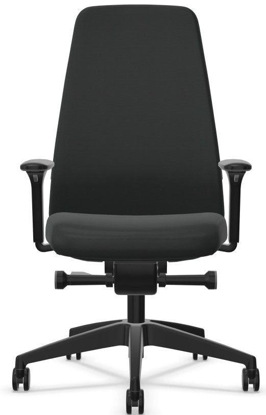 Bureaustoel Interstuhl EVERYis1 hoge rugleuning zwart