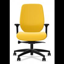 Bureaustoel Giroflex 353-4529 geel