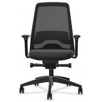 Bureaustoel Interstuhl newEVERYis1 met netweave rug zwart