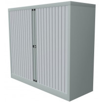 Roldeurkast 105x120x45cm Aluminium