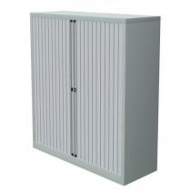 Roldeurkast 120x120x45cm Aluminium