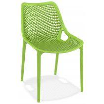 Kantine en terrasstoel Air Groen stapelbaar