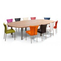 Vergadertafel T-Meeting in 20 vormen en 16 kleuren