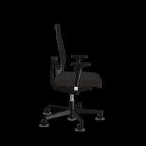 XXL en 24uurs bureaustoel Sedus Black Dot 24 netbespanning zijaanzicht
