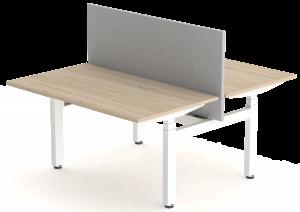 Elektrisch verstelbare dubbel werkplek FlexDuo