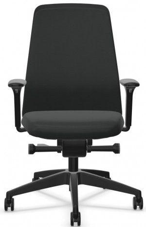 Bureaustoel Interstuhl newEVERYis1 met chillback rug zwart