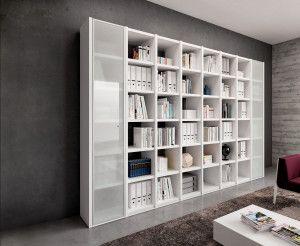 Libreria boekenkasten voor kantoor