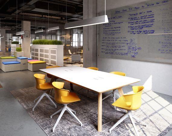 Industrieel kantoor door OfficeMania